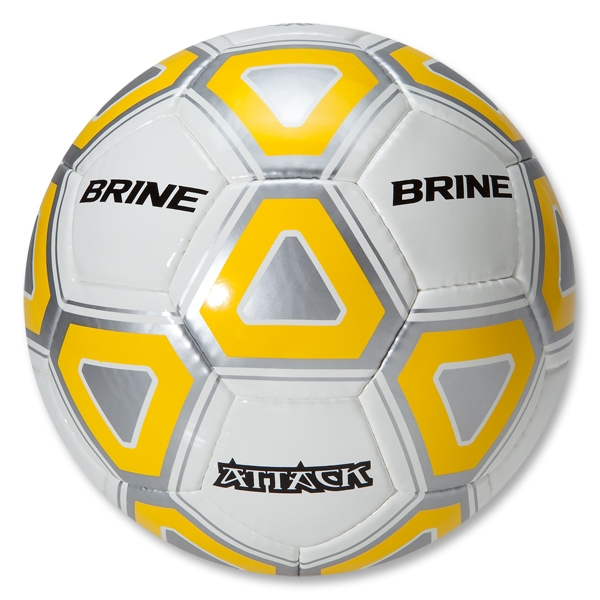 Brine Attack Soccer Ball (Yellow)