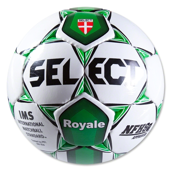 Select Royale NFHS Soccer Ball (White/Forest)