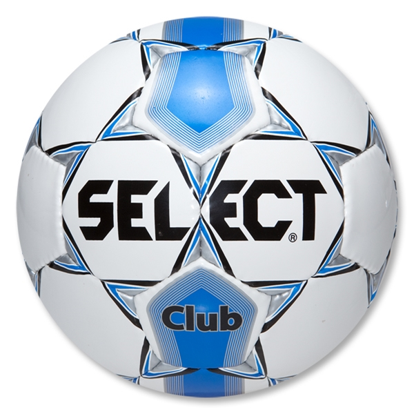 Select Club Soccer Ball (White/Royal)