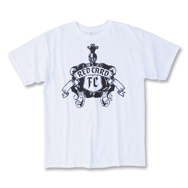 RedCard FC White Knight T-Shirt (White)