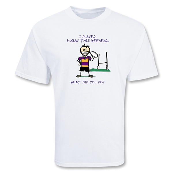 I Played Rugby Youth T-Shirt (Boy)