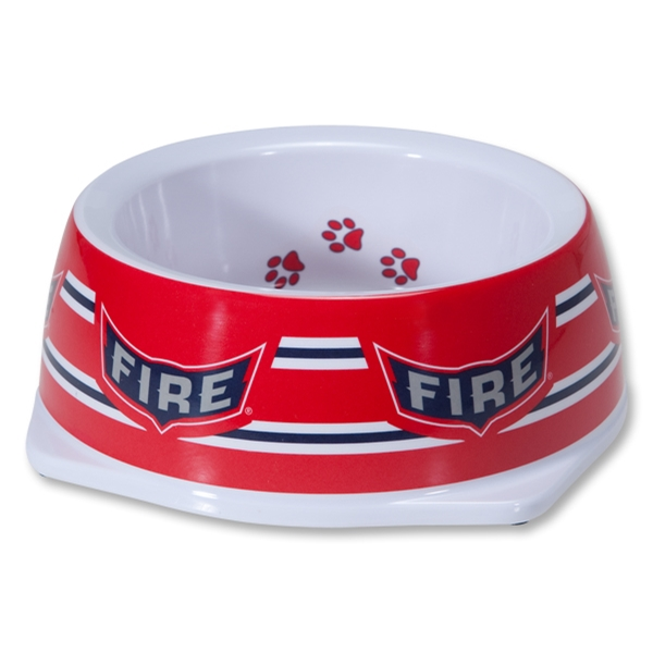 Chicago Fire Small Dog Bowl