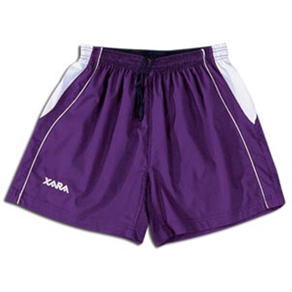 Xara Women's International Soccer Shorts (Pu/Wh)
