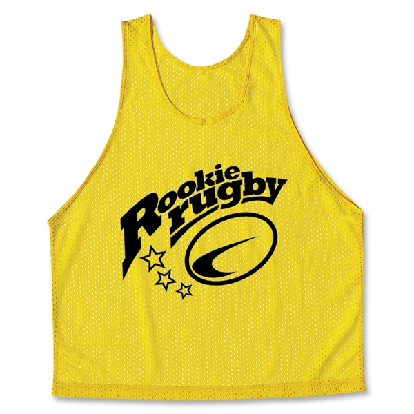 Rookie Rugby Scrimmage Vest 6-Pack (Yellow)