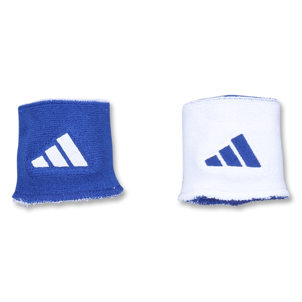 adidas Interval Reversible Wristband (Roy/Wht)