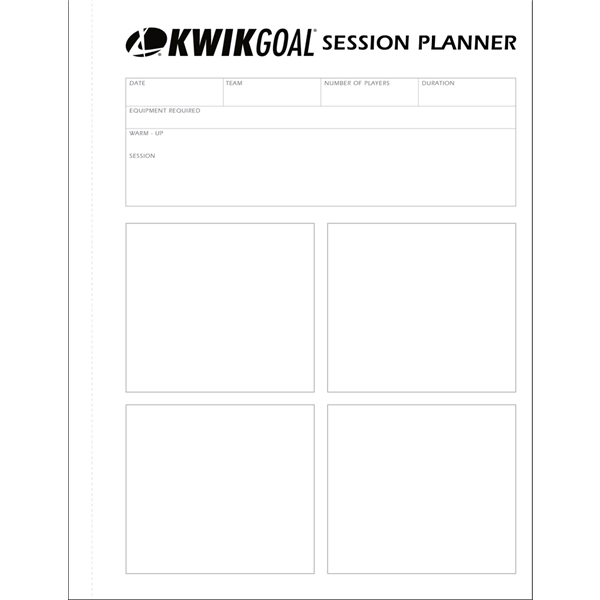 Kwik Goal Training Session Planner