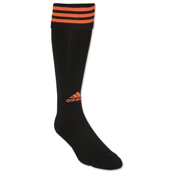 adidas Copa Zone Cushion Sock (Blk/Orange)