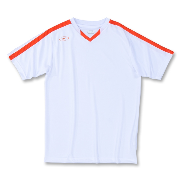 Xara Brittania Soccer Jersey (Wh/Or)