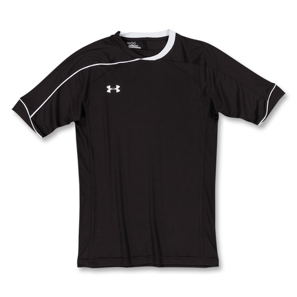 Under Armour Strike SOCCER Jersey (Blk/Wht)