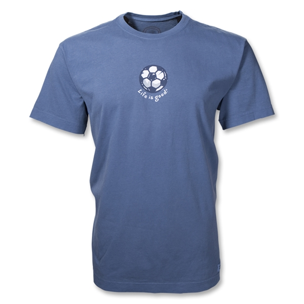 Life is Good Crusher Soccer T-Shirt