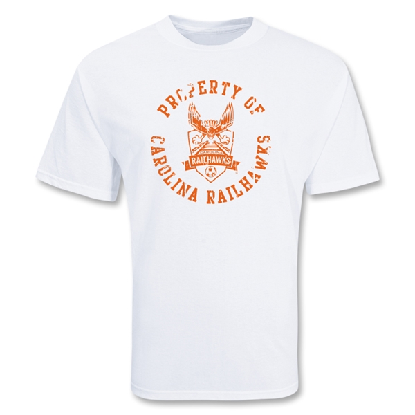 Property of Carolina Railhawks Soccer T-shirt
