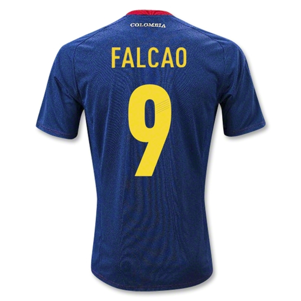 Colombia 11/13 FALCAO Away Soccer Jersey