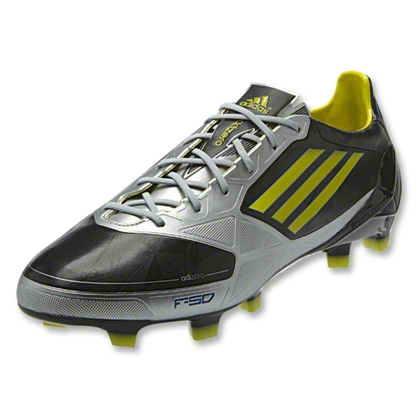 adidas F50 adiZero TRX FG Synthetic miCoach compatible (Black/Metallic Silver)