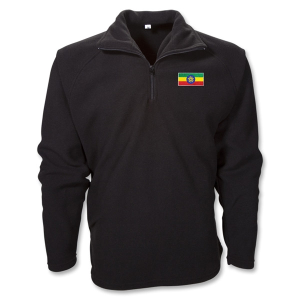 Ethiopia 1/4 Zip Fleece Jacket
