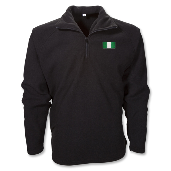 Nigeria 1/4 Zip Fleece Jacket