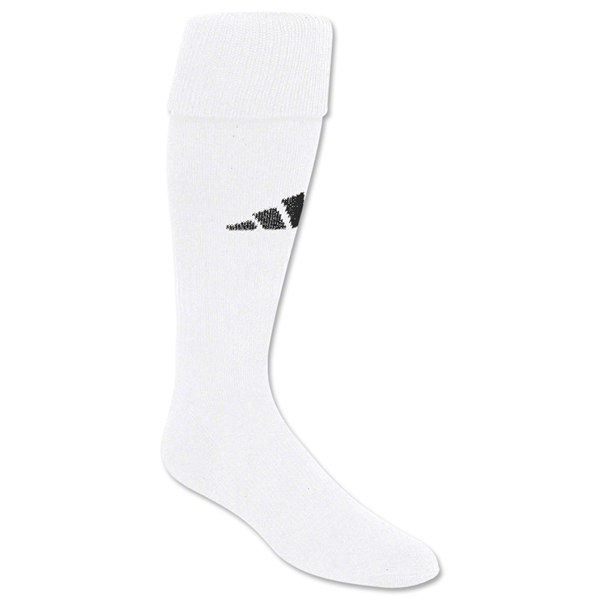 adidas Field Socks (White/Black)