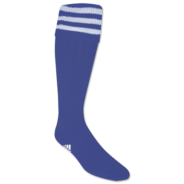 adidas 3-Stripe Socks (Roy/Wht)