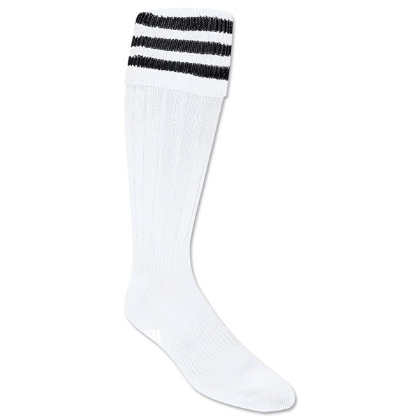 adidas 3-Stripe Socks (Wh/Bk)
