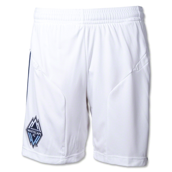 Vancouver Whitecaps 2012 Authentic Home Soccer Shorts