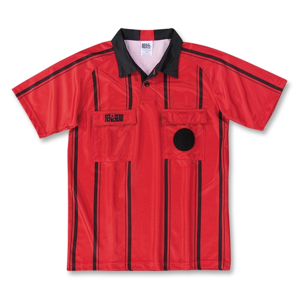 RefGear Pro Soccer Referee Jersey (Red)