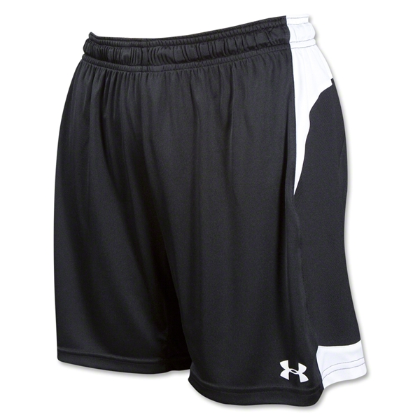 Under Armour Women's Dominate Short (Blk/Wht)