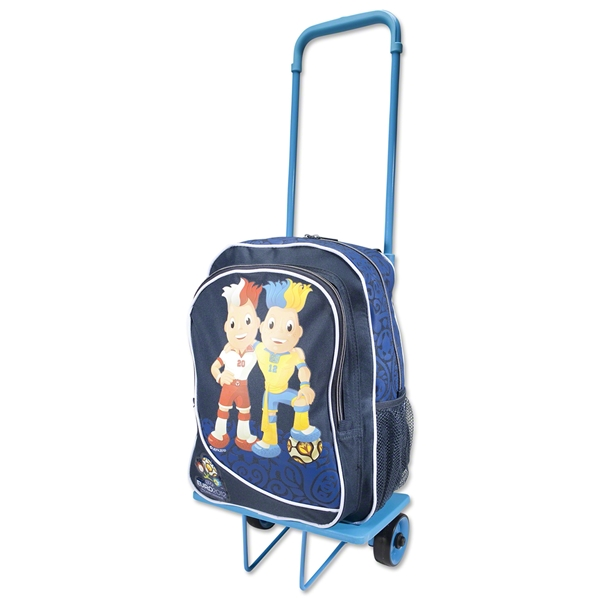 UEFA Euro 2012 Kids Detachable Trolley Bag