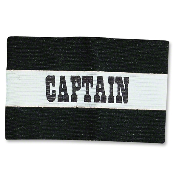 Classic Captain's Armbands (Black/White)
