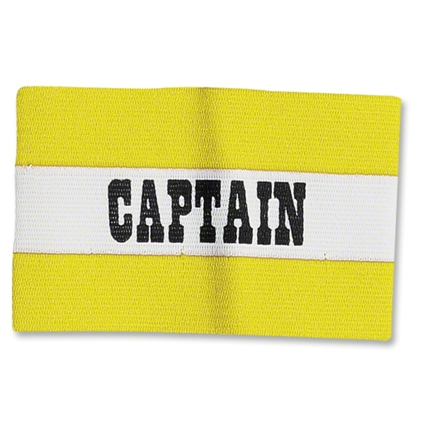 Classic Captain's Armbands (Yellow/White)