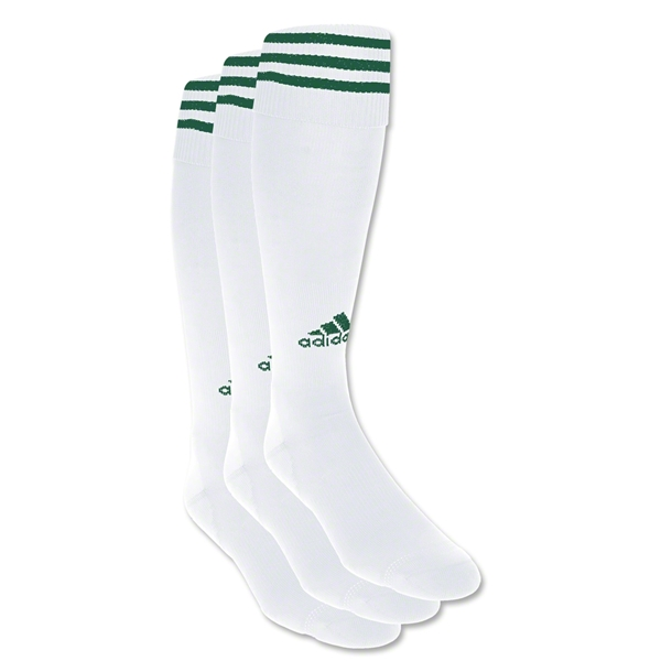 adidas Copa Zone Cushion Irreg 3 Pack (Wh/Dgr)