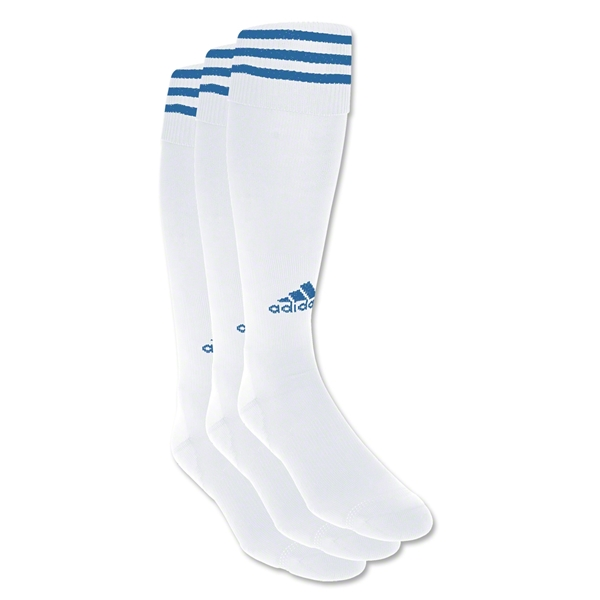 adidas Copa Zone Cushion Irreg 3 Pack (Wh/Ro)