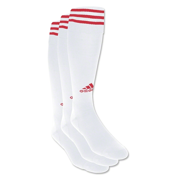 adidas Copa Zone Cushion Irreg 3 Pack (Wh/Sc)