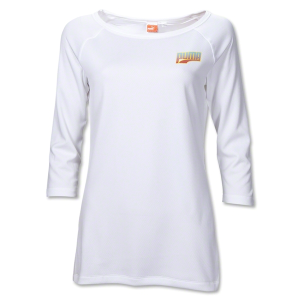 PUMA 3/4 Reversible Women's T-Shirt (White)