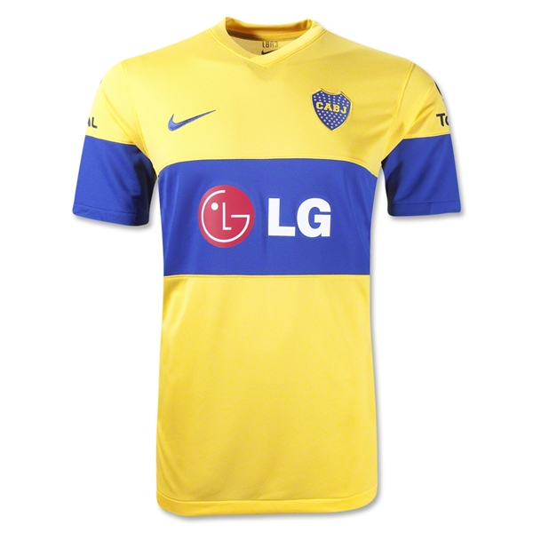 Boca Juniors 11/12 Away Soccer Jersey