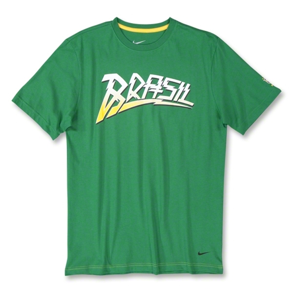 Brazil Core Bolt T-Shirt (Green)