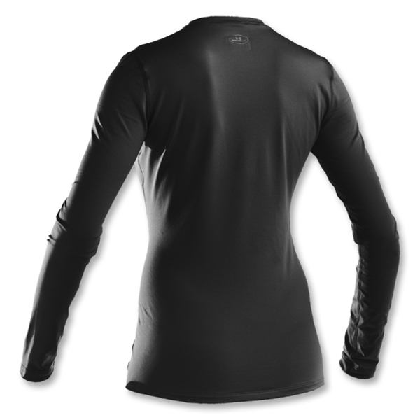 Under Armour The ColdGear Fitted Crew (Black)