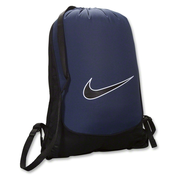 Nike Brasilia 5 Gym Sack (Black/Navy)
