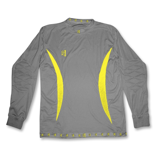 GK1 Messing LS Goalkeeper Jersey (Gray)