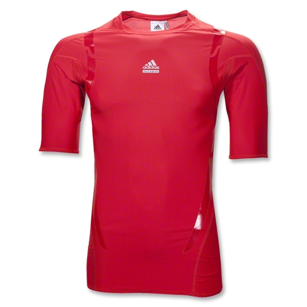 adidas TechFit PowerWeb Top (Red)
