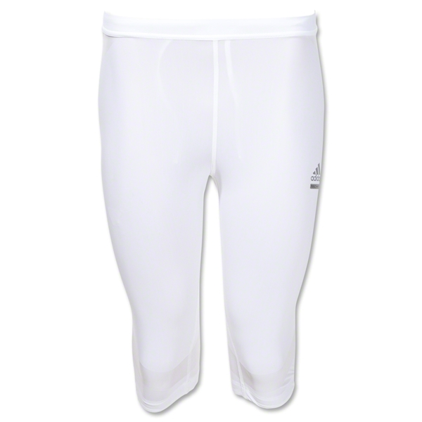 adidas TechFit PowerWeb Shorts (White)