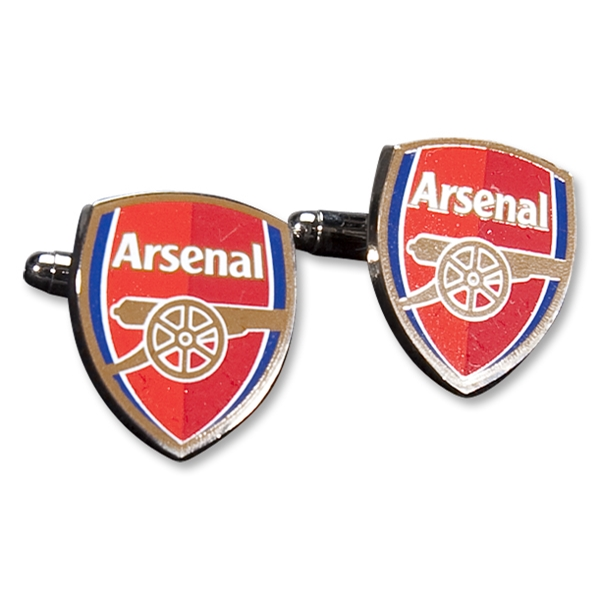 Arsenal Color Crest Cufflinks