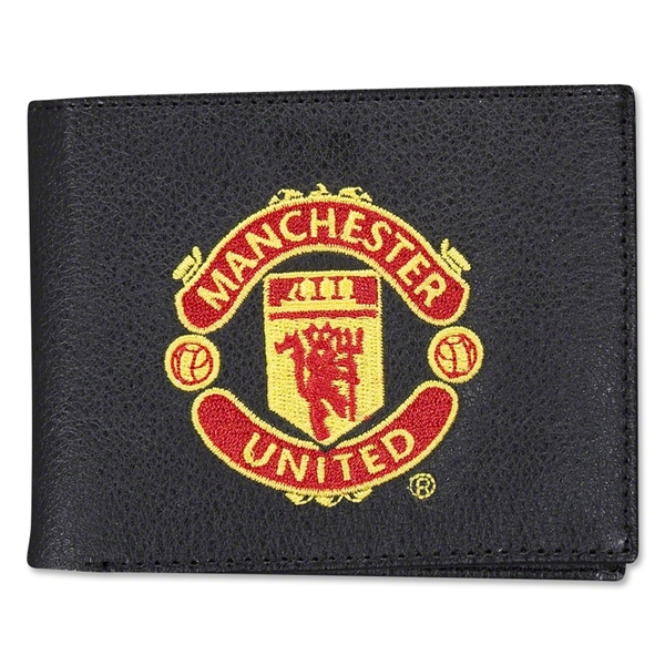 Manchester United Embroidered Crest Wallet