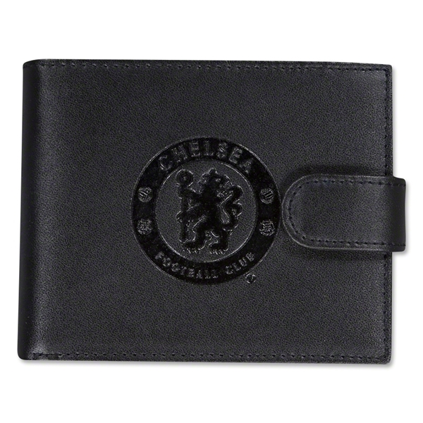 Chelsea Embossed Crest Leather Wallet
