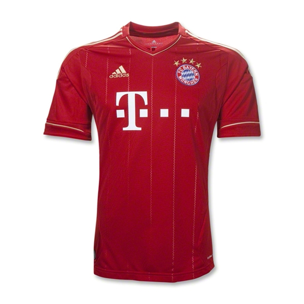 Bayern Munich 11/13 Home Youth Soccer Jersey