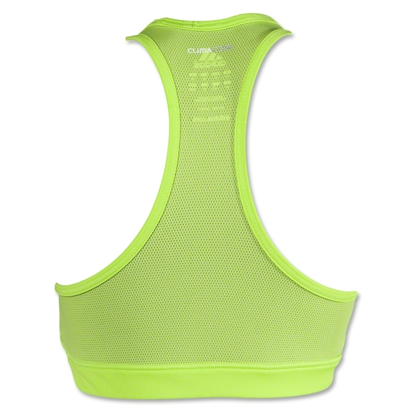 adidas Women's Techfit Solid Bra (Lime)