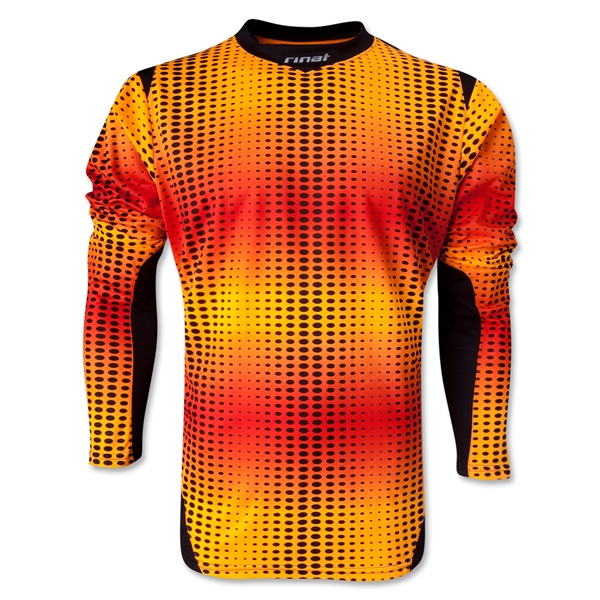 Rinat Jaguar Long Sleeve Goalkeeper Jersey (Orange)