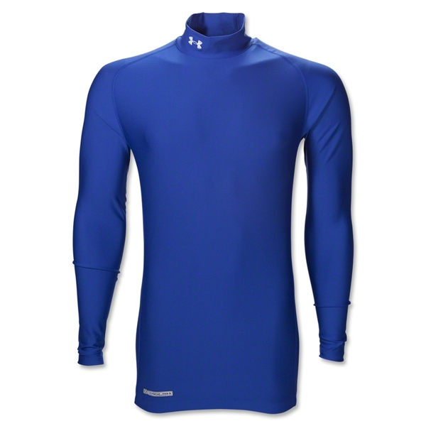 UA ColdGear Game Day Compression Mock (Royal)