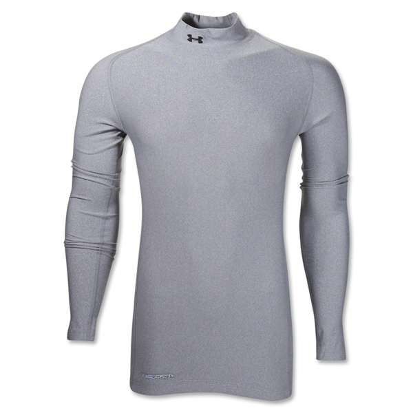 UA ColdGear Game Day Compression Mock (Gray)