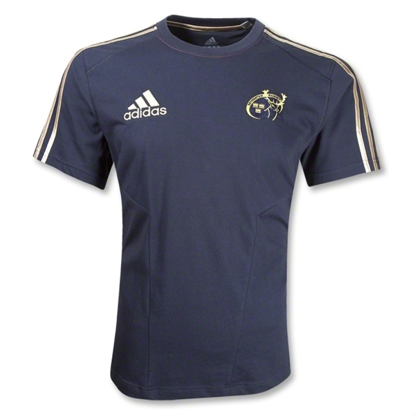Munster Youth Rugby Cotton SS T-Shirt (Navy)