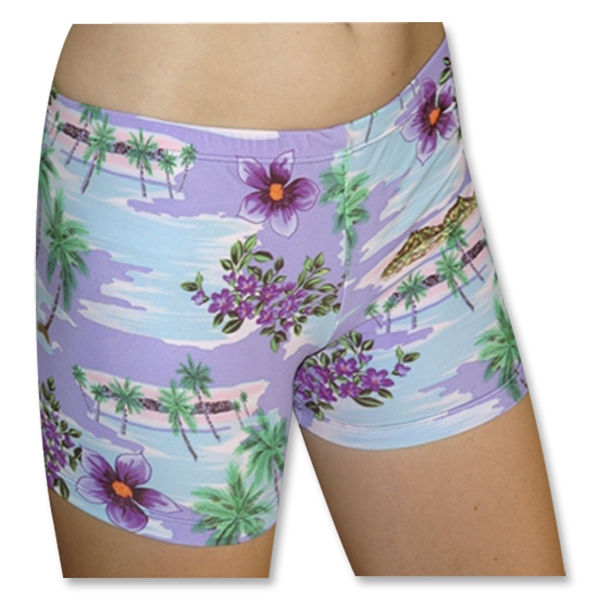 Tuga Sport Shortz Tropical (Purple)