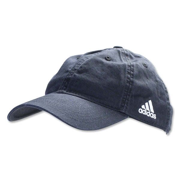 adidas PL Adjustable Washed Cap (Black)